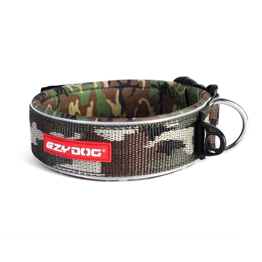 Neo Wide - Neopren Hundehalsband, breit